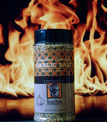 Bourbon Smoked Garlic Salt