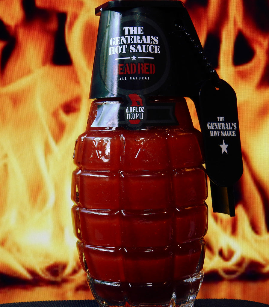 The General's Dead Red Hot Sauce