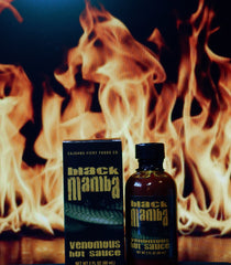 Black Mamba Extreme Venomous Hot Sauce Extract