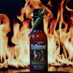 Caboom! High Velocity Hot Sauce with Bullet Keychain