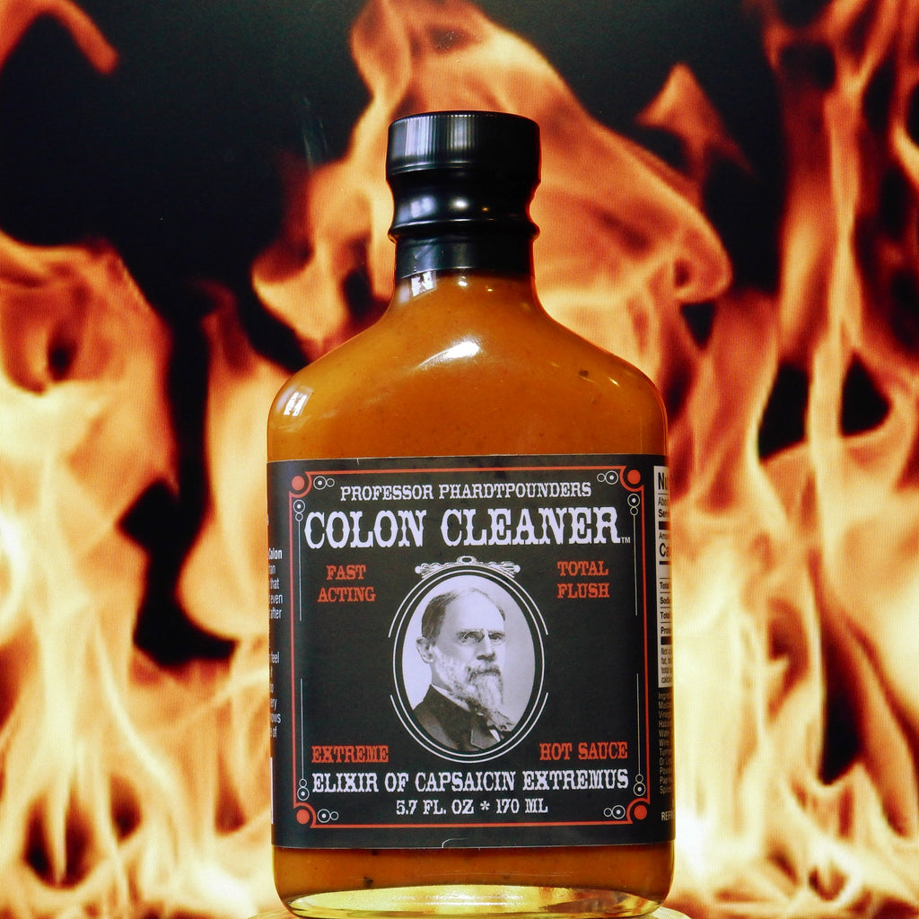 Professor Phardtpounders Colon Cleaner EXTREME Hot Sauce