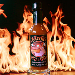 Bacon Hot Sauce | The Flaming Hoop Chilies - Buy Hot Sauces Online