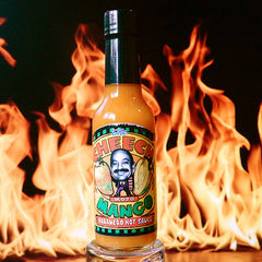 The Cheech Mojo Mango Habanero Hot Sauce