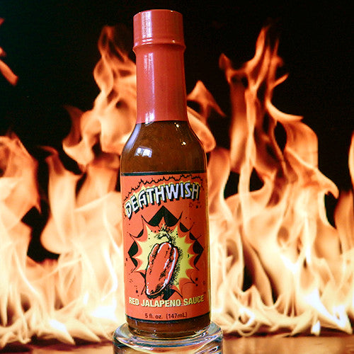 Deathwish Red Jalapeno Hot Sauce