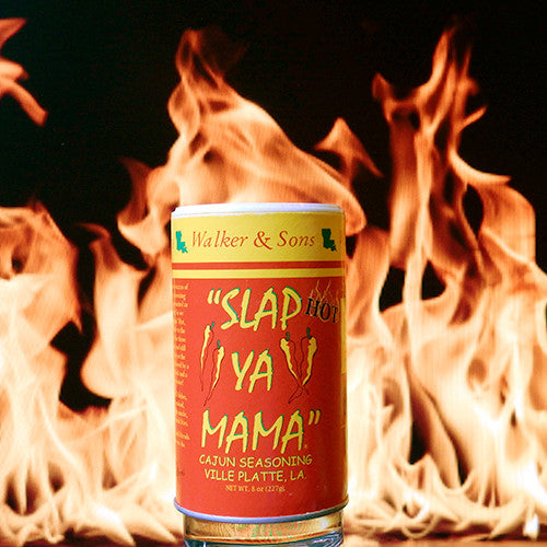 Slap Ya Mama Hot Cajun Seasoning | The Flaming Hoop Chilies - Buy Spices Online