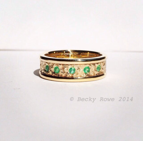 Gold & Emerald Ring