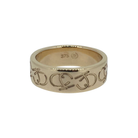 Initials Wedding Ring