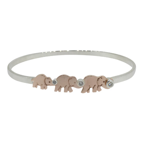 Elephant Family Bangle