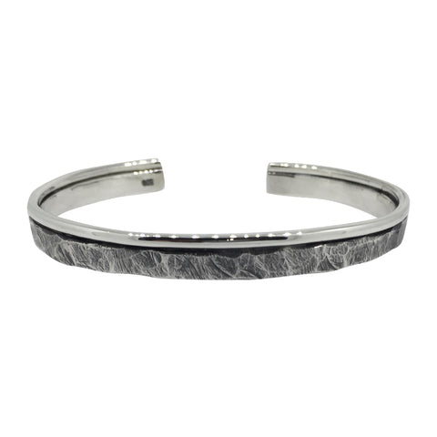 Rough and Smooth Bangle