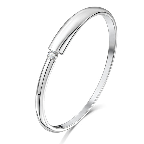 Thick-to-Thin Bangle