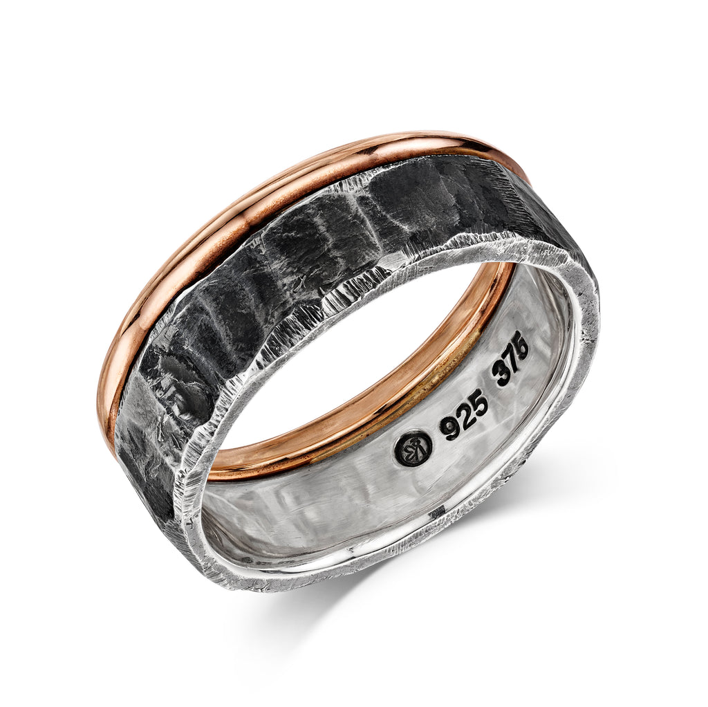 Rough & Smooth Ring