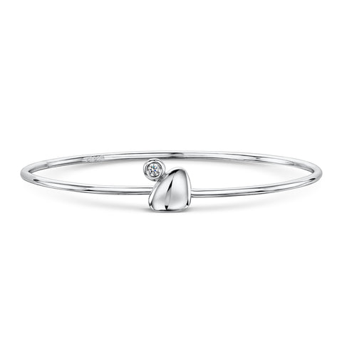 Pebble Tension Bangle