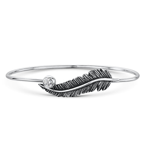 Feather Tension Bangle