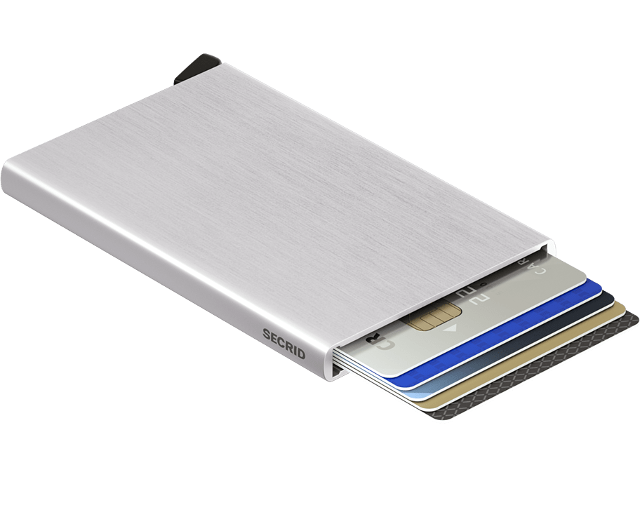 Cardprotector Brushed Silver