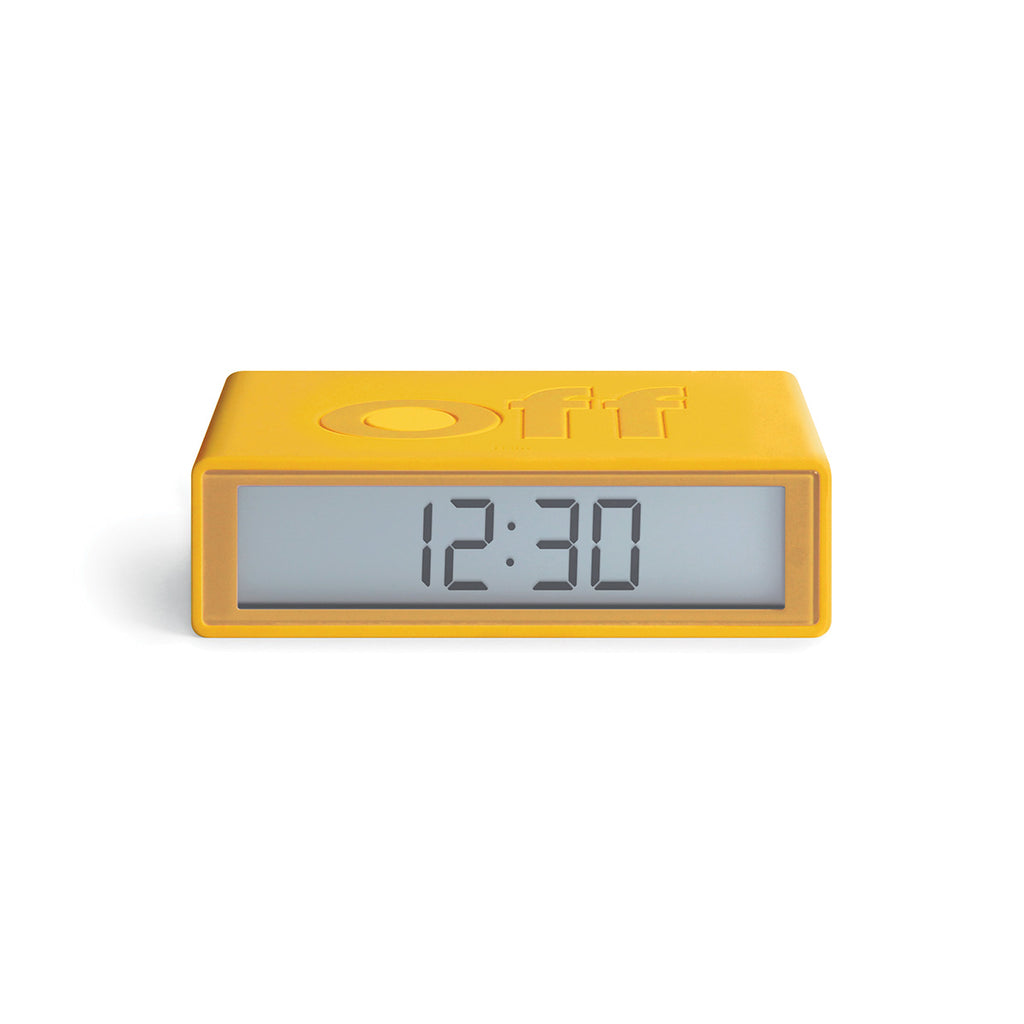 Lexon Flip + Travel Clock