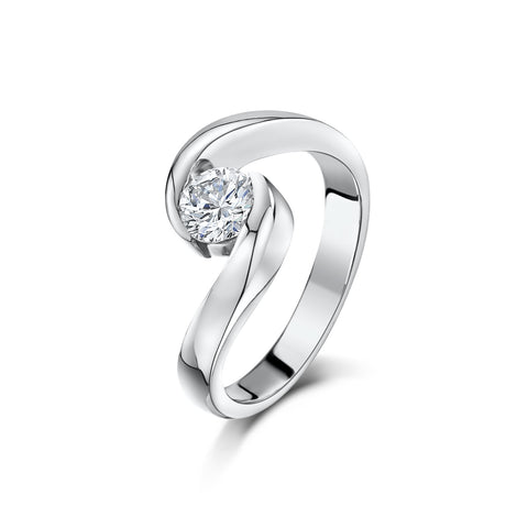 0.5ct Diamond Engagement Ring