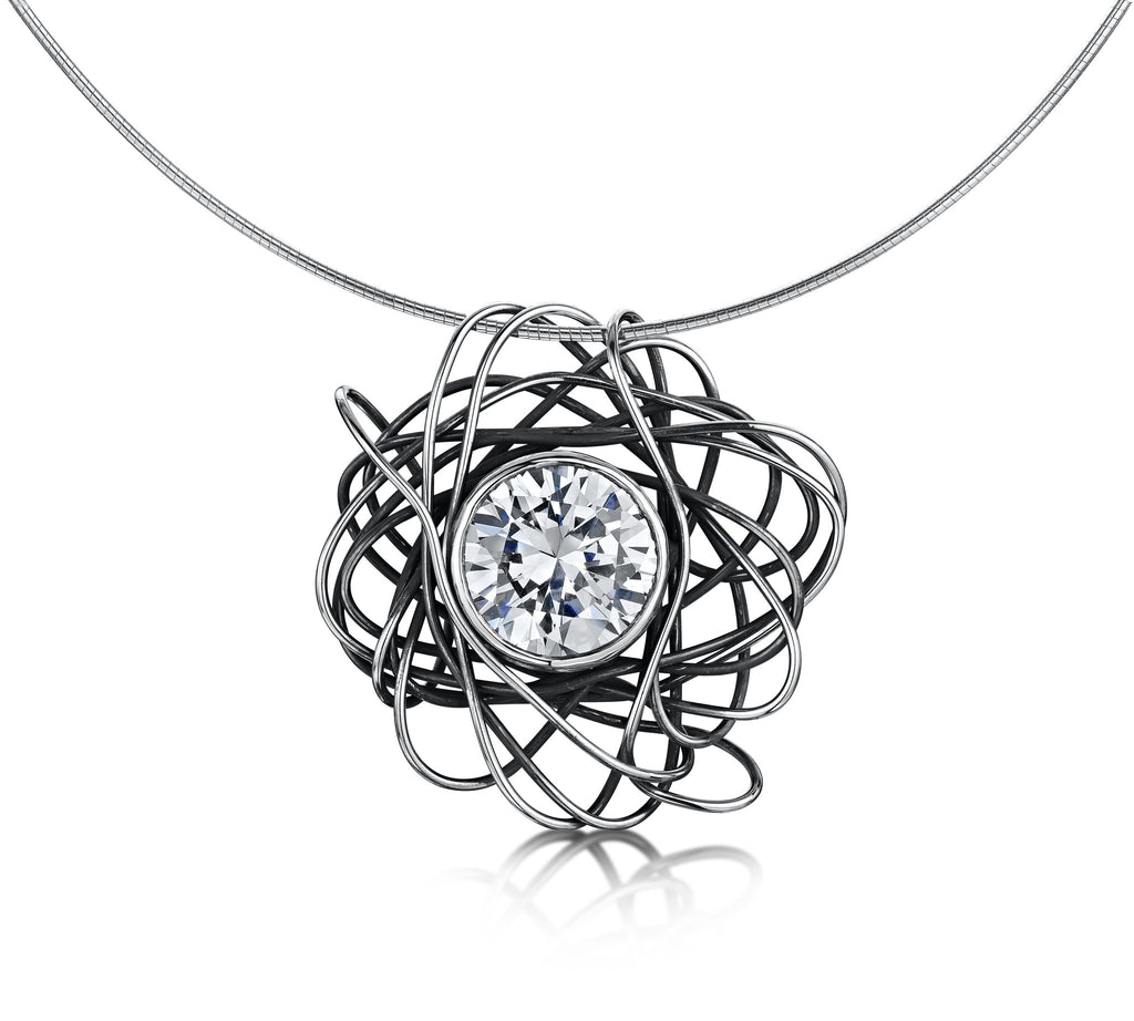 Beautiful Mess Zirconia Necklace (Large)