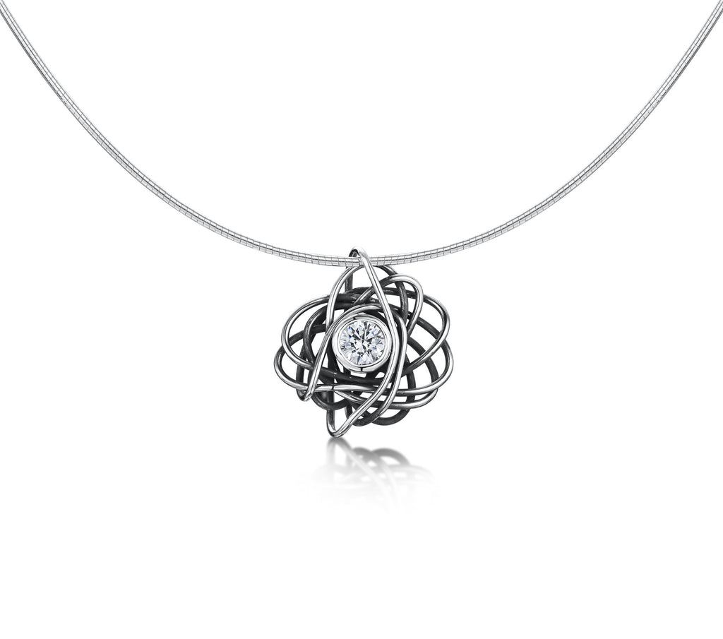 Beautiful Mess Zirconia Necklace (Small)