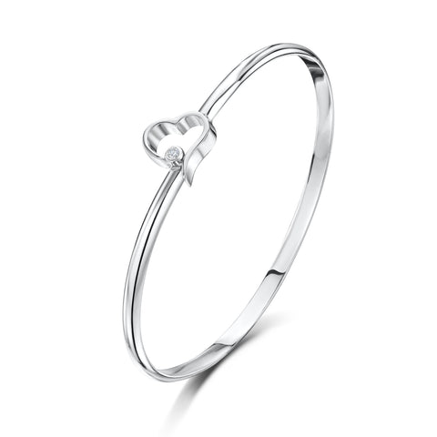 Open Heart Bangle