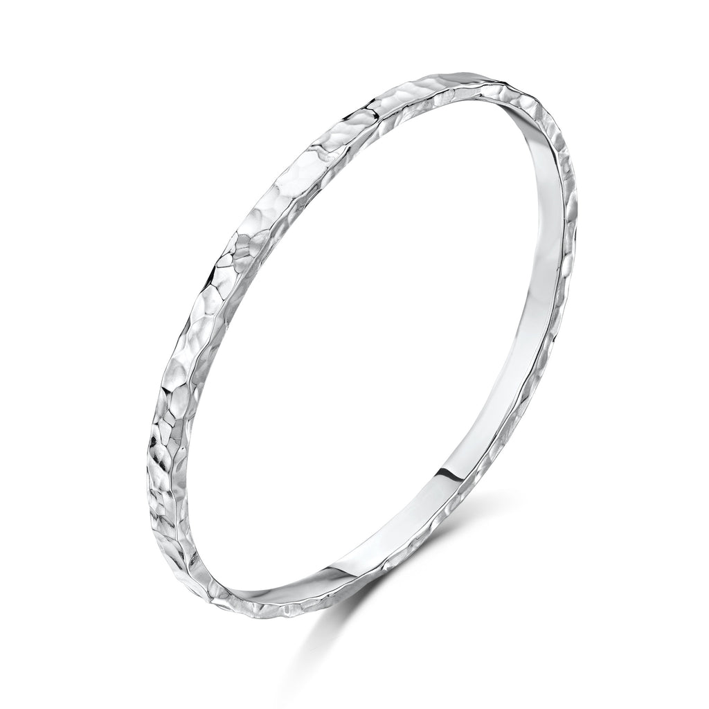Beaten Bangle (5mm)