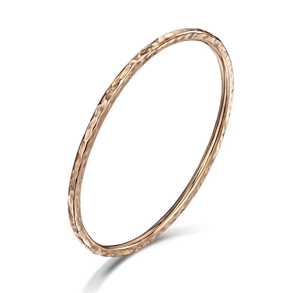 Beaten Bangle (3mm)