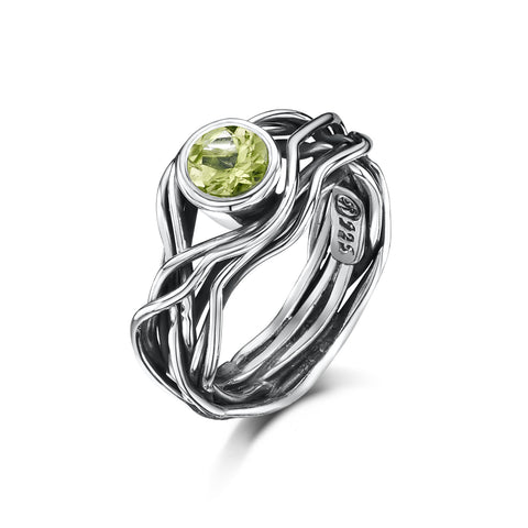 Beautiful Mess Zirconia or Peridot Ring