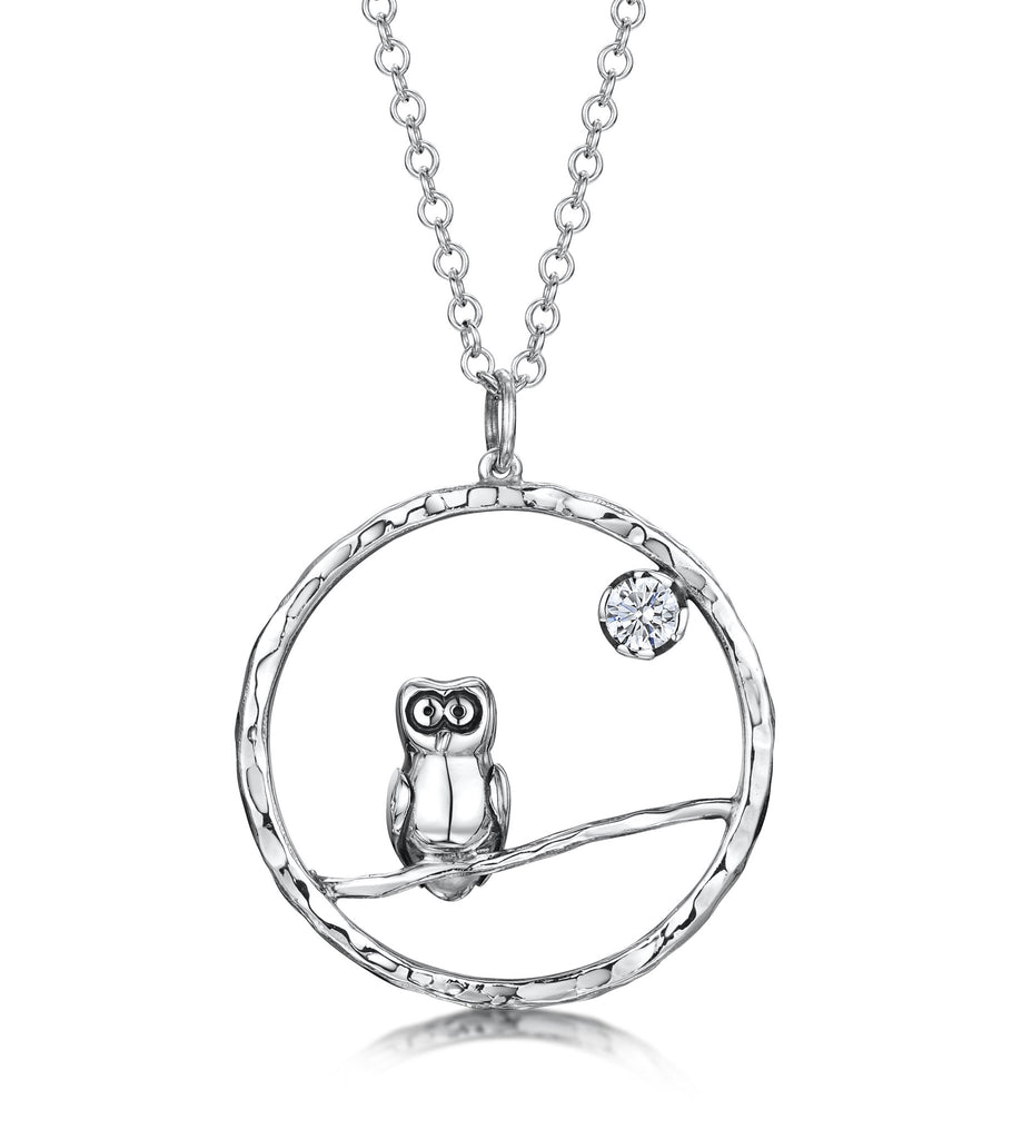 Sterling Silver Owly Charm