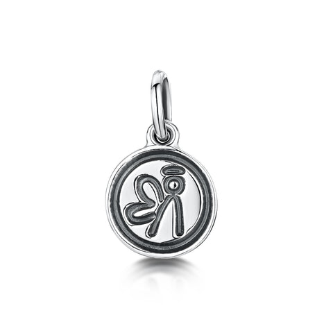 Angel Logo Charm