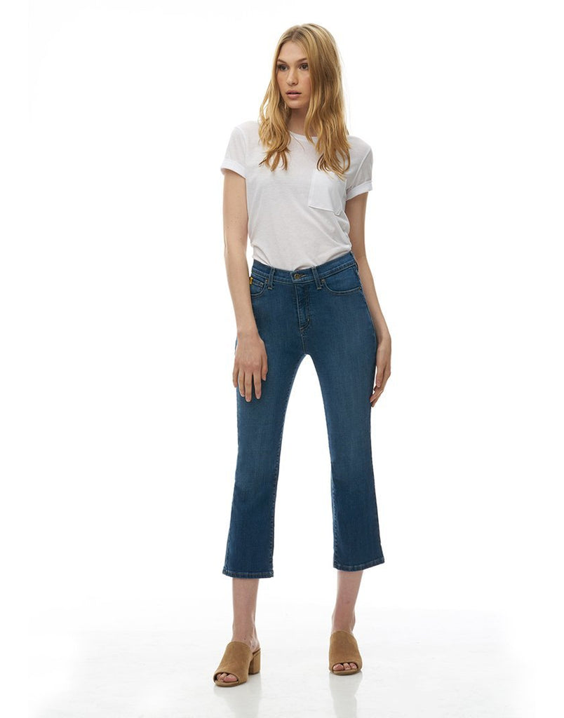 "Yoga Jeans CHLOE straight leg 25"" Inseam - Earth"