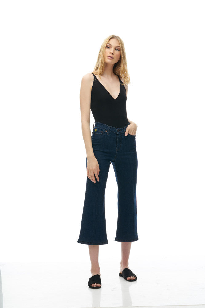 "Yoga Jeans - Lily Wide - 25"" Inseam - Ferris Wheel"