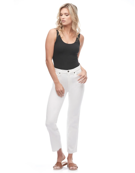 "Yoga Jeans CHLOE 28"" - WHITE DOVE"