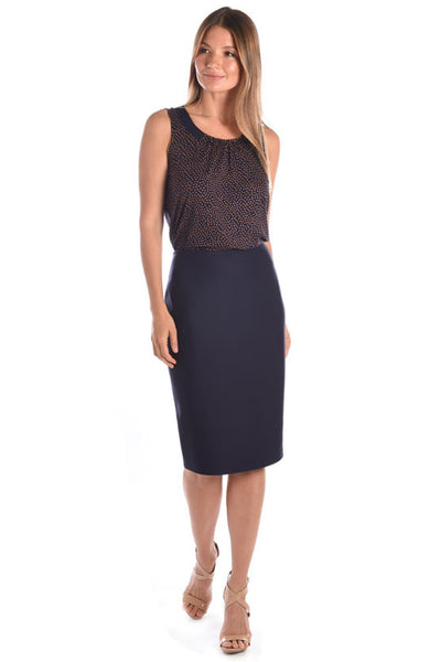 Brenda Beddome Pull On Pencil Skirt