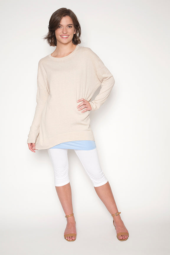 Echo Verde Lightweight Sweater