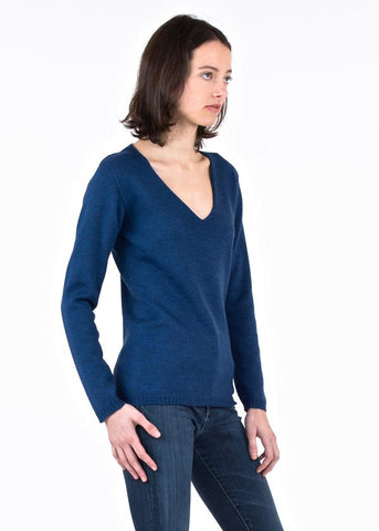 Erdaine Cosma V-Neck Sweater