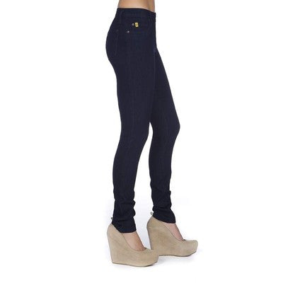 "Yoga Jeans RACHEL 34"" Inseam - Rinse Indigo with Navy Stitch"