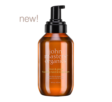 John Masters Organics Hand & Body Wash - Lemon & Ginger