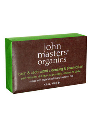 John Masters Birch & Cedarwood Cleansing & Shaving Soap