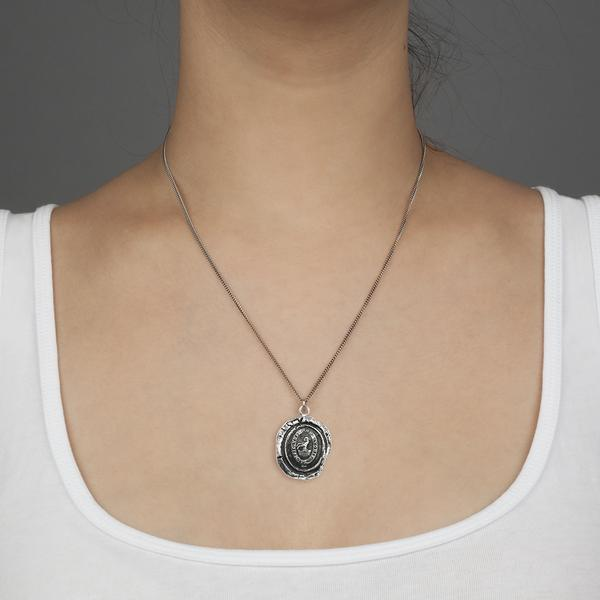 Pyrrha Devoted Father Pendant Necklace