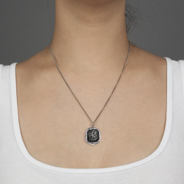 Pyrrha Fearless Pendant Necklace
