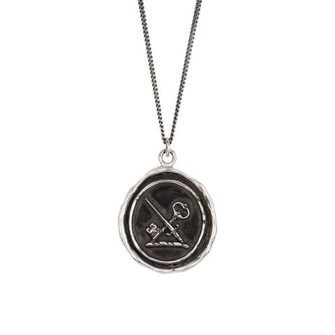Pyrrha Overcoming Fear Pendant Necklace