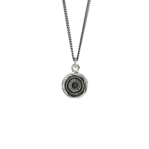 Pyrrha Safe Travels Pendant Necklace