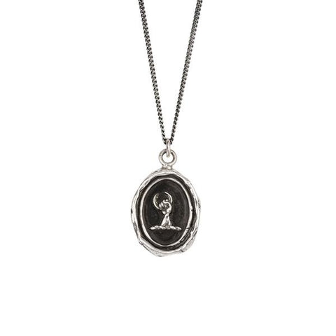 Pyrrha Determination Pendant Necklace