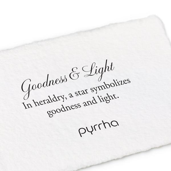 Pyrrha Goodness and Light Charm Necklace