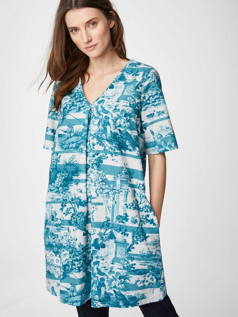 Thought Toile De Jouy Tunic Dress