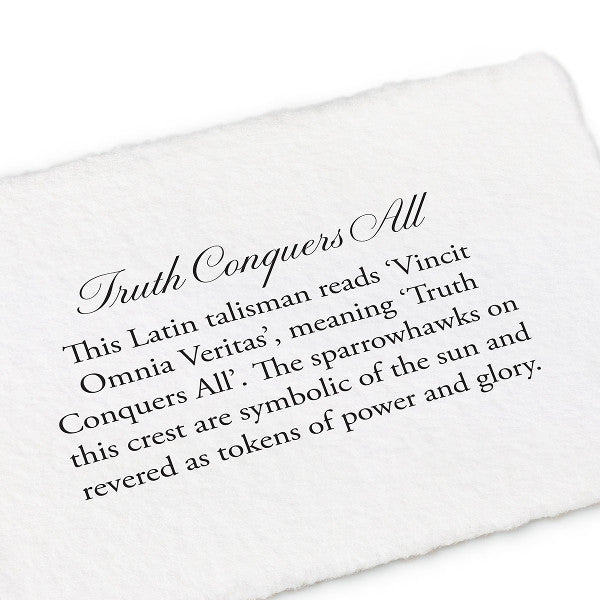 Pyrrha Truth Conquers All Pendant Necklace