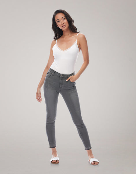 "Yoga Jeans RACHEL High Rise 27"" - Salt Water"