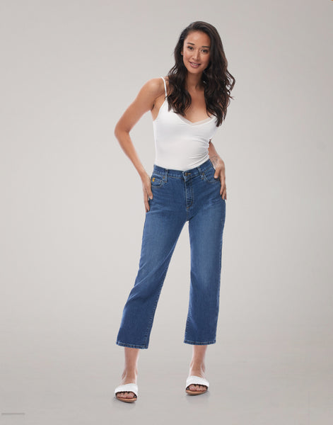 "Yoga Jeans CHLOE Classic Rise straight leg 25"" - Loyal"
