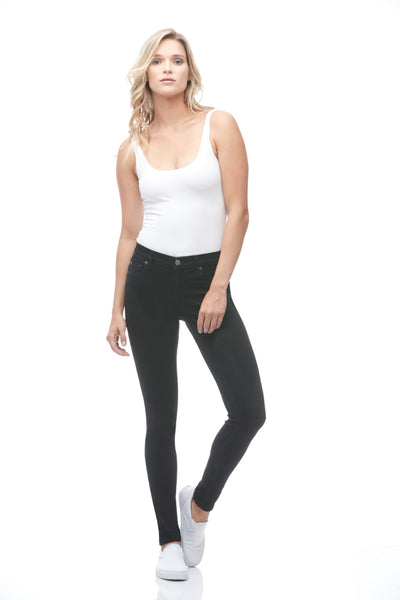 "Yoga Jeans RACHEL 30"" Inseam – All Black"