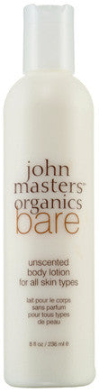 John Masters Organics BARE Body Lotion - Unscented