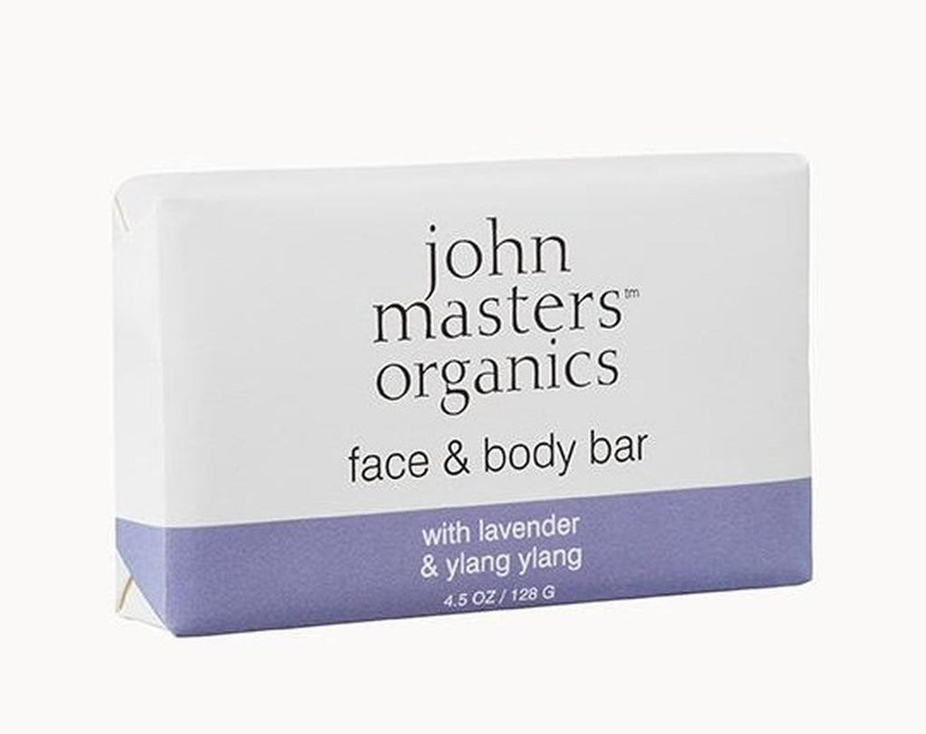 John Masters Face & Body Bar with Lavender & Ylang Ylang